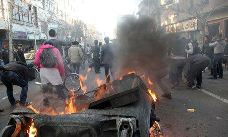Internal report from Basij on unrest in Iran capital