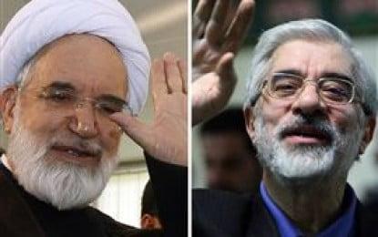 Conservative MP says Mousavi and Karroubi must speak on state TV