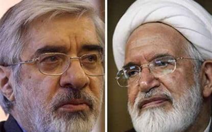 Mousavi And Karroubi Moved To IRGC House-Prison Around Tehran, Says Informed Source