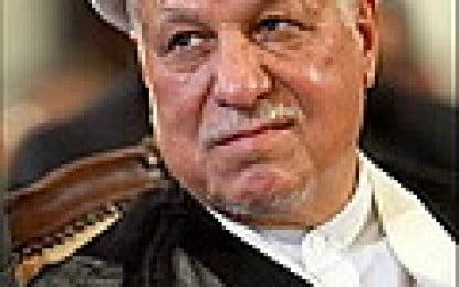 Hashemi Rafsanjani Retreating?