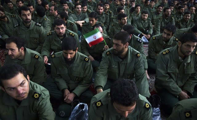 Iran Guards reject accusation of oil spill plan