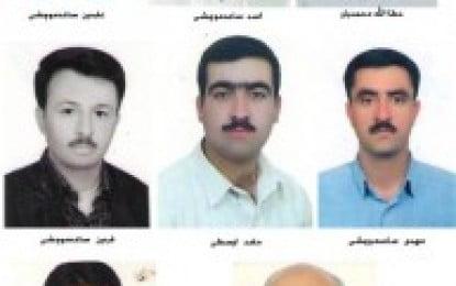 Eight members of Kurdish-Sunni minority in Moochesh arrested