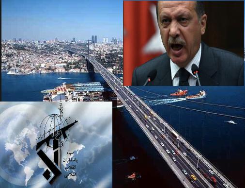 Iran's Revolutionary Guards infiltration in Turkey