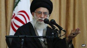 Iran leader calls Israel 'rabid dog', urges arms for Palestinians