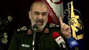 Hossein Salami, IRGC Commende