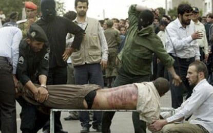 Two journalists to be flogged for insulting regime official
