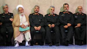 IRGC Influence of the foreign and domestic Iranian policy, Iran, IranBriefing, Iran Briefing, IRGC, IRGC Commander, Khatami , Hashemi Rafsanjani, Ayatollah Khamenei, Ahmadinejad, Basij