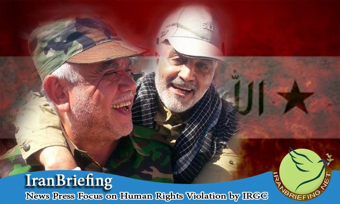 Iraqi Shiite Militia Commanded by Designated Iranian Terrorists, Iran, IranBriefing, Iran Briefing, Iranian Terrorists, IRGC , IRGC Commander, Qassem Suleimani, Quds Force,  United States, Iraq, Syria, Shiite militia,
