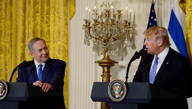NETANYAHU: U.S. SUPPORTS ESCALATED ISRAELI RESPONSE TO IRAN IN SYRIA