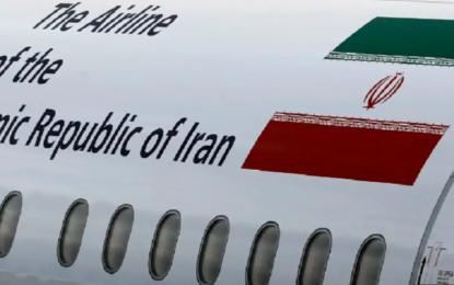 IRANIAN CARGO PLANE SUSPECTED OF BRINGING ARMS TO HEZBOLLAH DEPARTS TEHRAN