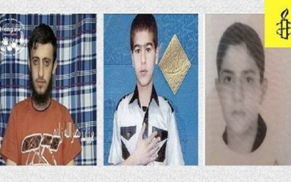 International watchdog urges Iran to stop execution of three Kurdish teenagers
