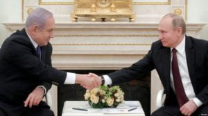 Israeli PM vows to bar Iran from securing presence in Syria
