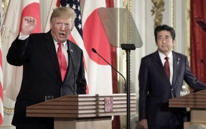 Trump pushes off war talk on Iran, says 'regime change' is not U.S. goal