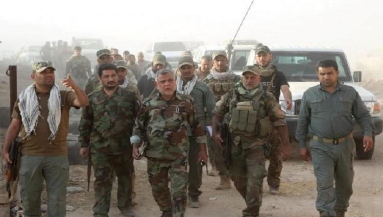 U.S. SANCTIONS IRAQ-BASED COMPANY, SAYS IT BACKS IRAN'S IRGC