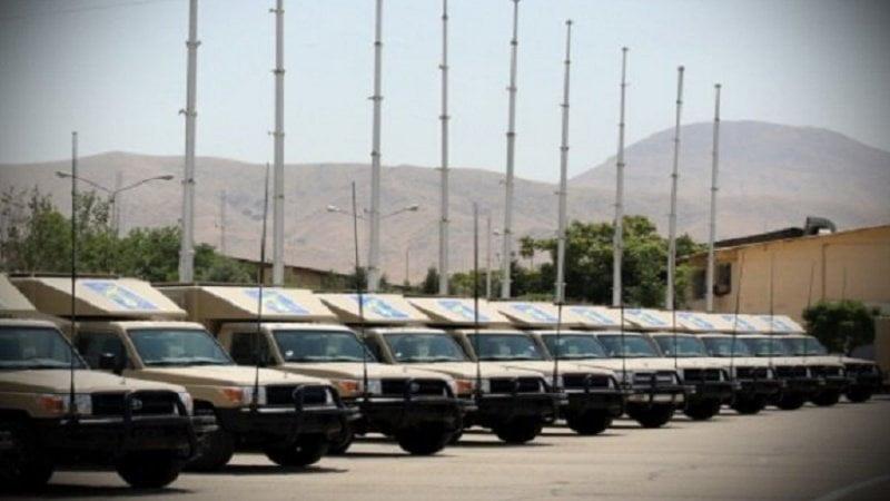 IRGC unveils a new tactical communication system