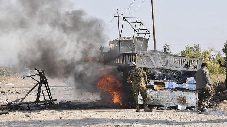 Airstrike Targets Iran-backed Militias Near Iraq-Syria Border, Media Reports Say