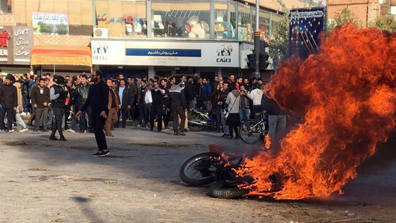 Revolution Is On In Iran, Security Forces Fire On Protesters
