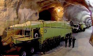 Iran's secret underground 'missile city' unveiled