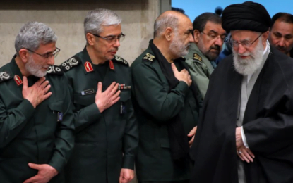 IRGC Linked Agency Says Media, Analysts Got Khamenei's Pacifist Message Wrong