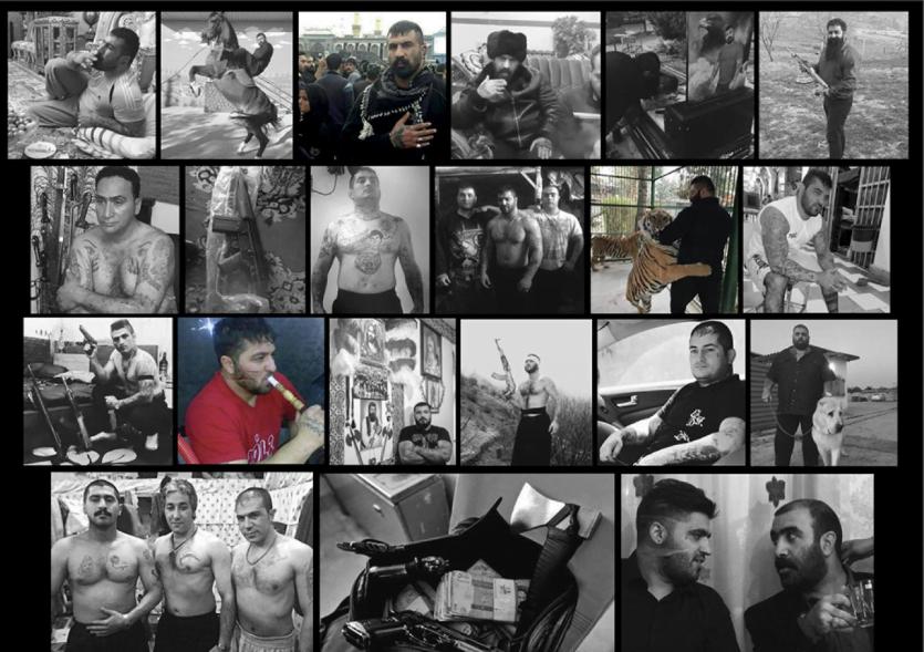 Dog fighting, drug deals and tattoos: The hidden lives of Iran's criminal underworld
