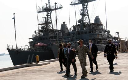 Defense Secretary Meets With Bahraini, U.S. Military Leaders