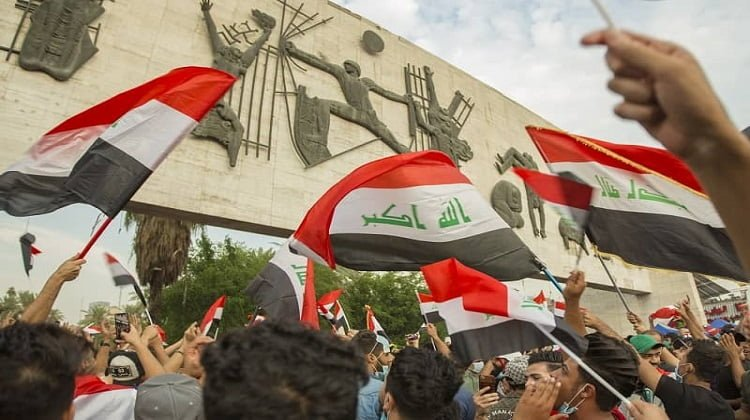 Protests in Iraq Continue Against Iran Regime's Proxy Terrorists and Corruption