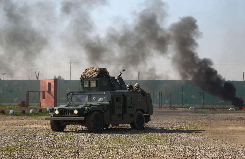 Baghdad base housing US troops is hit as Iran proxies apply pressure