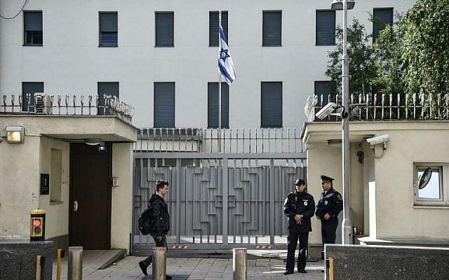 Israel said to alert embassies worldwide of possible Iran threats
